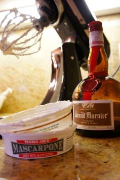 Mascarpone and Grand Marnier
