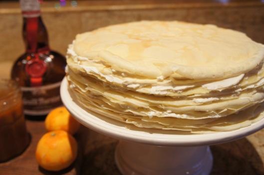 Assembled Crepe cake