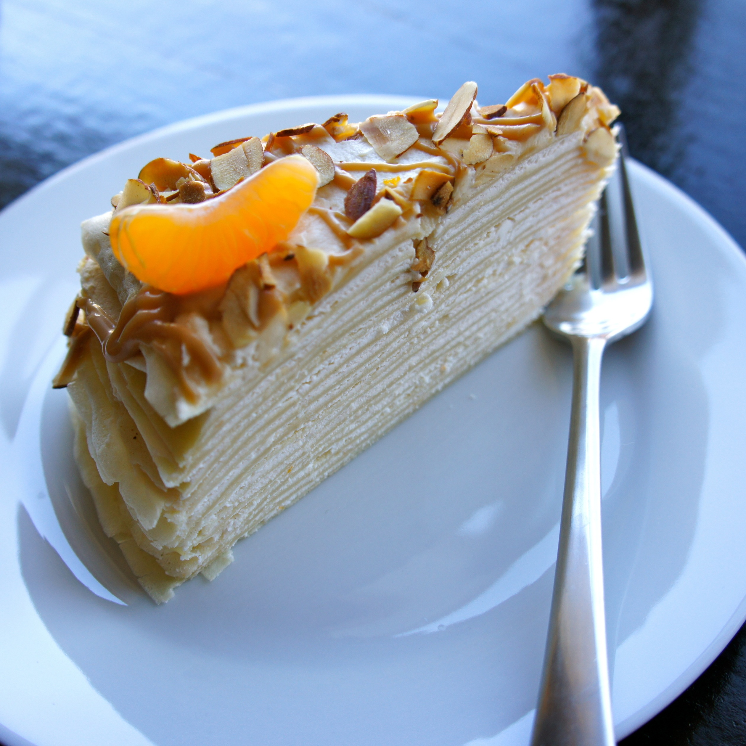 Caramel Cake And Soft Grand Marnier Caramels Recipe — Dishmaps