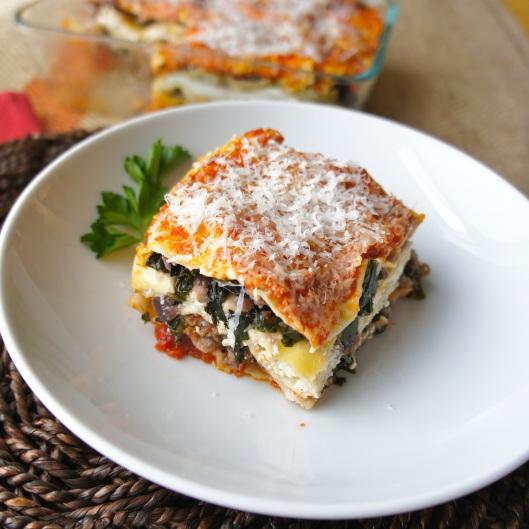 Kale Lasagna 1