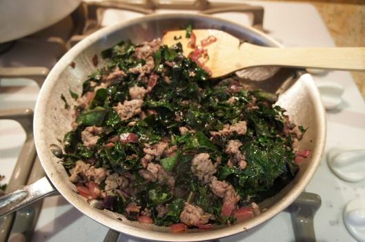 Kale & Sausage